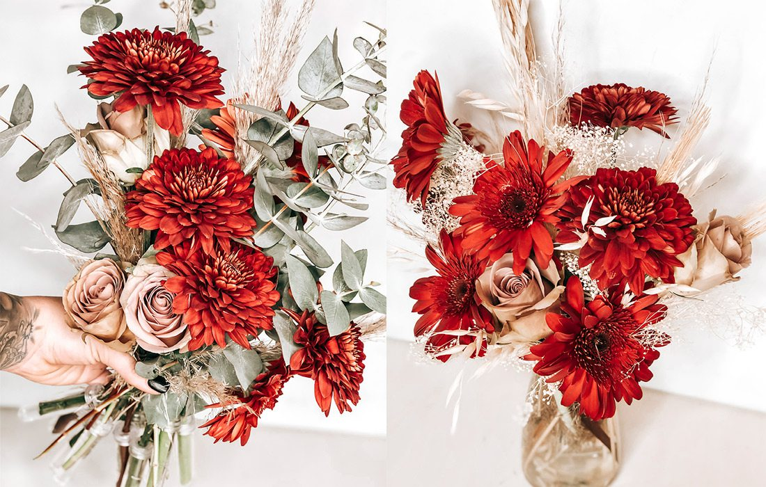Bouquets for Valentine's Day