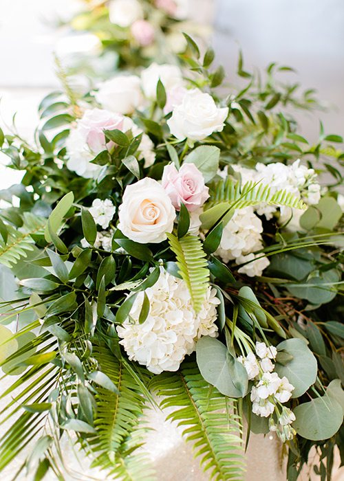 Valerie Moore's wedding bouquet