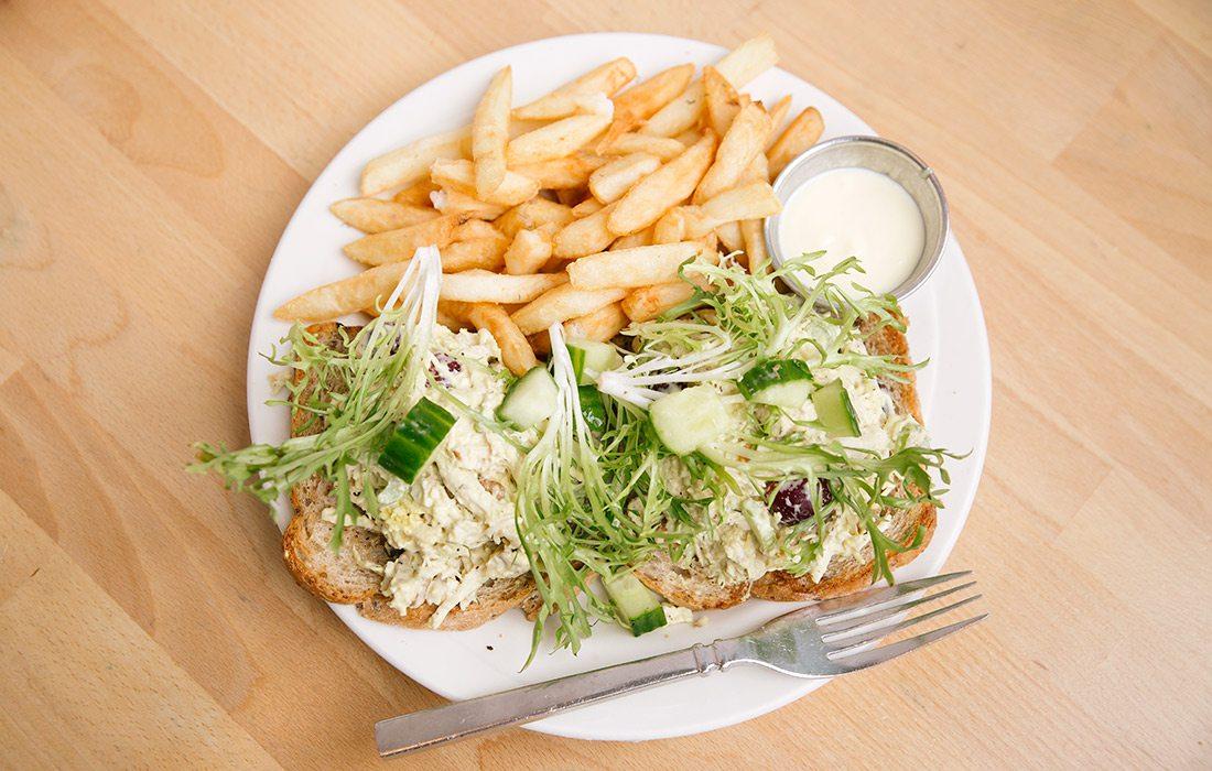 Frisan Chicken Salad at Van Gogh's Eeterie in Springfield MO
