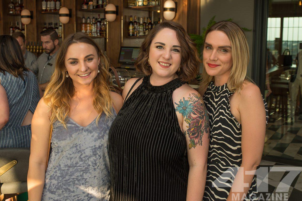Morgan Crowder, Meg Burns, Lindsey Carpenter