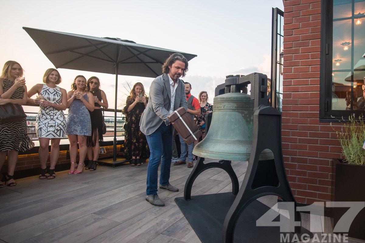 John McQueary bell Vantage rooftop