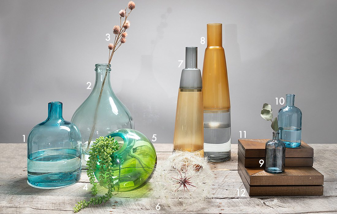 How to Style Glass Vases bought in Springfield, MO