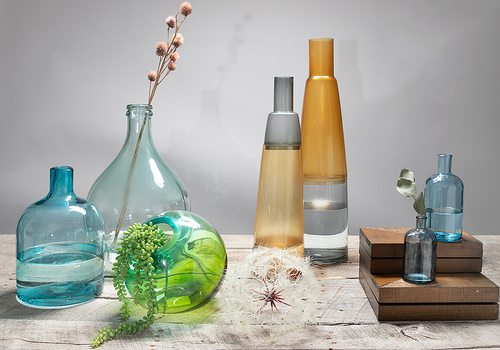 Decorate With Glass Vases