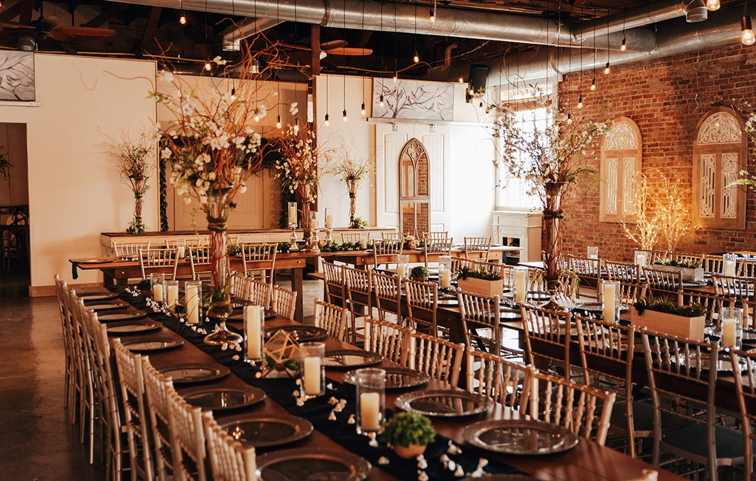 Dining Room at Venue on Brick in Ozark MO