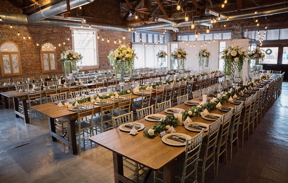 Event space at Venue on Brick in Ozark MO