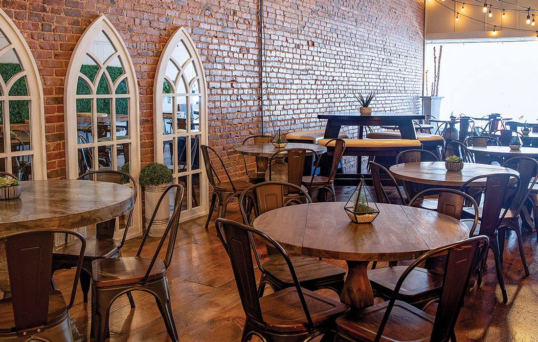 Event space at Venue on Brick