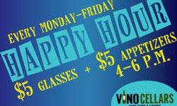 Vino Happy Hour