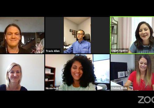 Screenshot of virtual 10fnt10 B-School