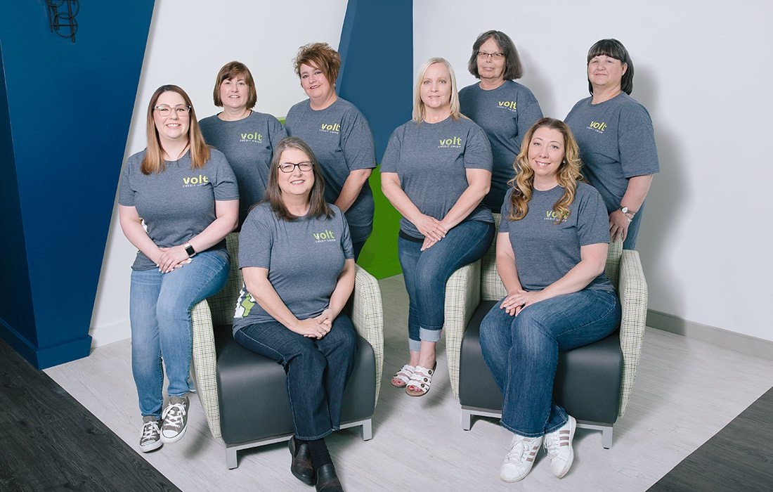 Volt Community Financial Credit Union staff