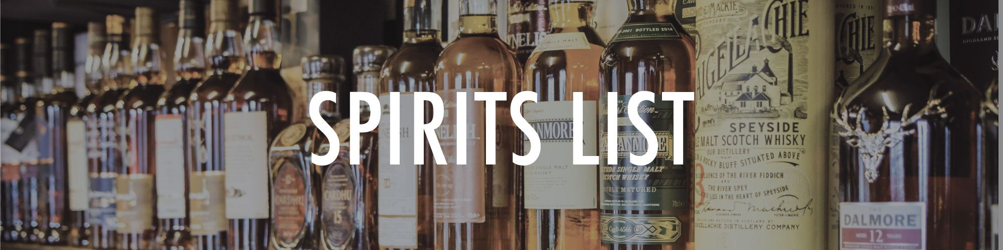 whiskey festival spirits list