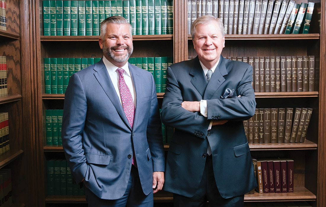Joseph S. Passanise and Dee Wampler of Wampler & Passanise Law Office in Springfield MO