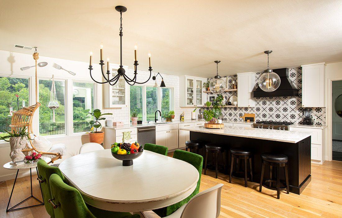 Interior kitchen of Wares home