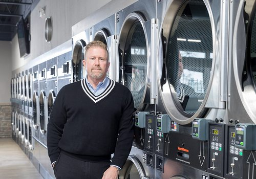 Brad Harris, owner of The Wash House Coin Laundry in Springfield, MO and Republic, MO