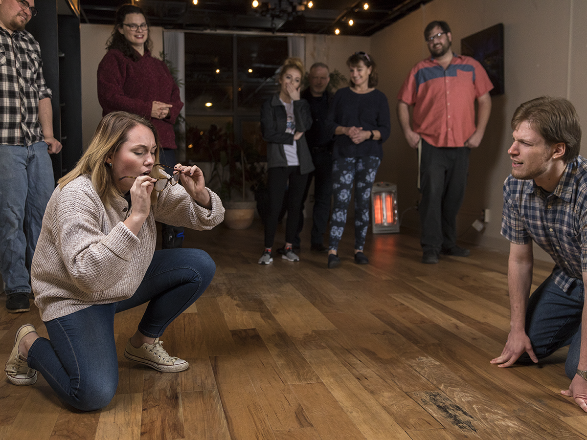 We Tried Improv, and It Didn't Kill Us