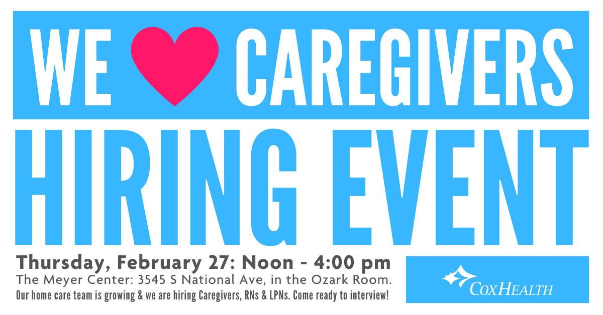 We LOVE Caregivers Hiring Event