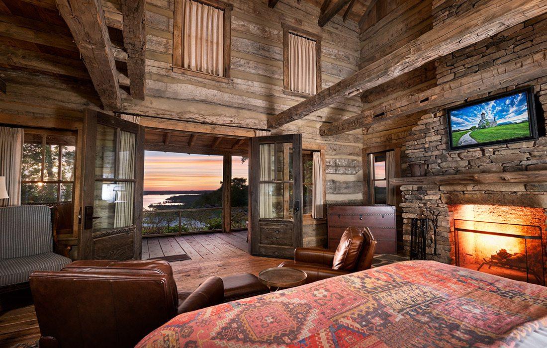 Honeymoon Cabin at Big Cedar Lodge in Branson MO