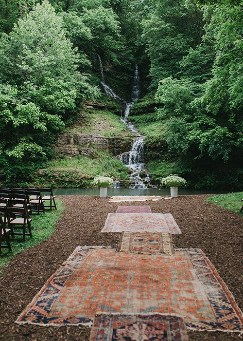 Wedding at Dogwood Canyon in Branson MO
