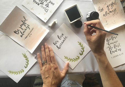 Give Your Big Day a Personal Touch with Calligraphy