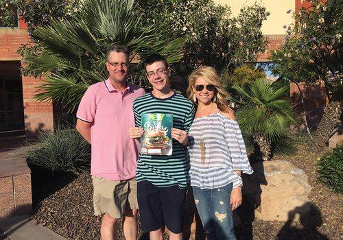 family in Palm Springs
