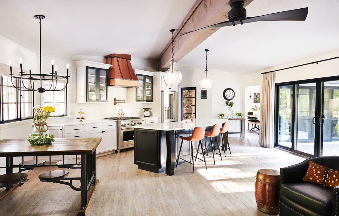 Whole House Design 2021 winner living space