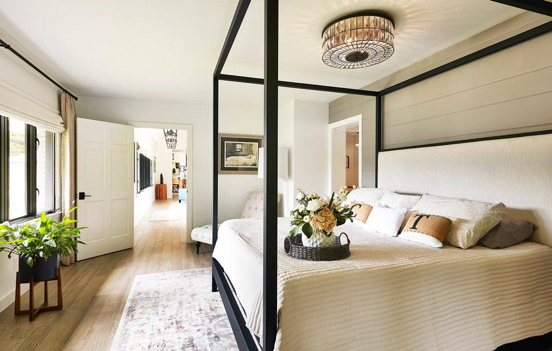 Interior bedroom photo from 2021 Whole House Designer winner
