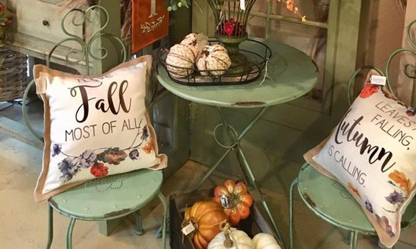 Fall products at Wickman's Garden Village