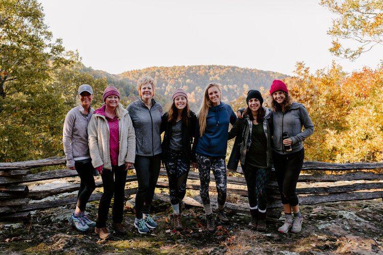 Women in the wilderness weekend in Springfield, MO