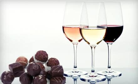 Wine and Chocolate Tasting at Macadoodles