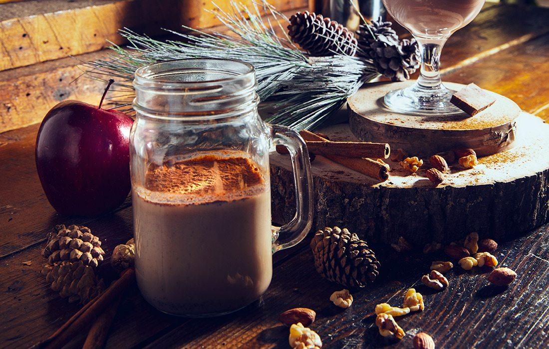 spiced chai cocktail