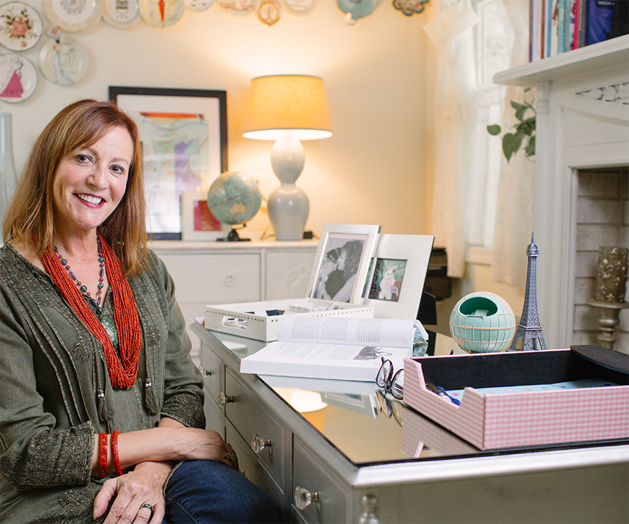 Michele Granger is Working From Home