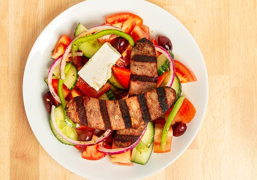 Villager Salad at Greek Belly in Springfield MO