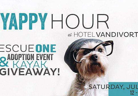 Yappy Hour at Hotel Vandivort