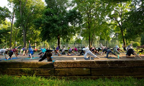 Outdoor Yoga in Springfield, MO