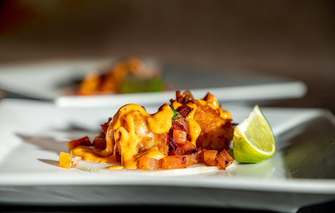 Jicama Taco from Mundo's Latin Kitchen