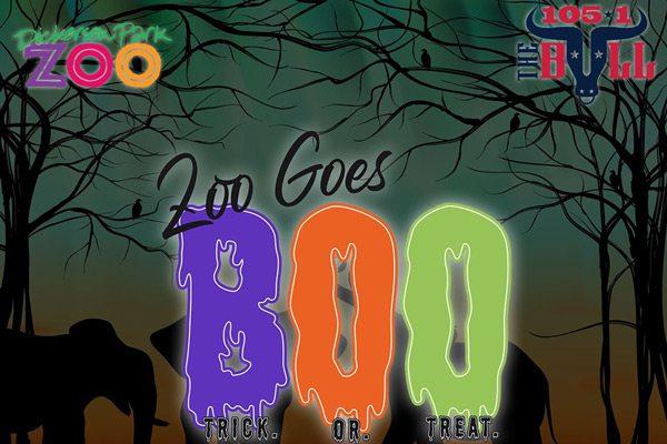 Zoo Goes Boo banner image