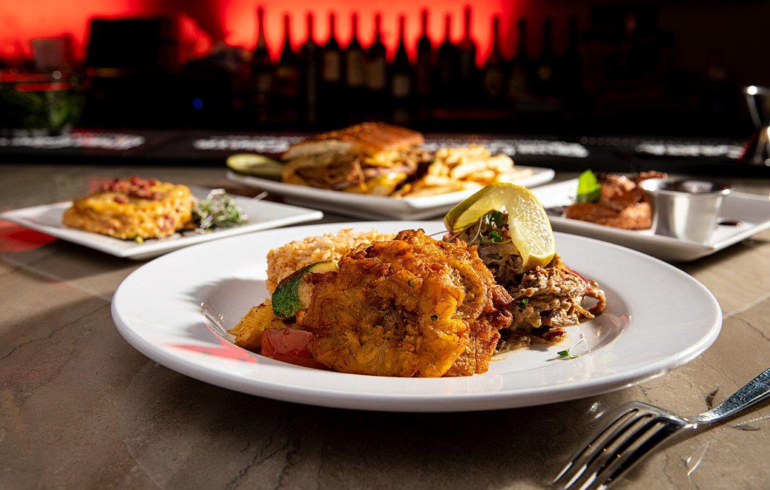Dishes at La Habana
