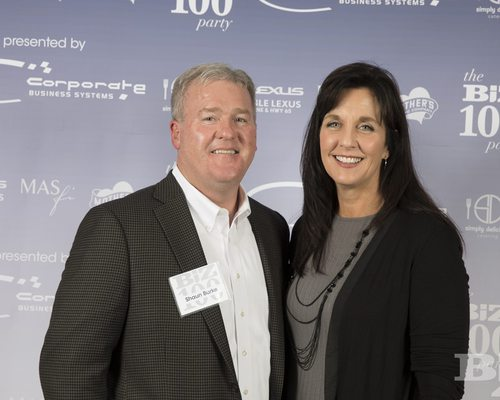 Biz 100 party attendees