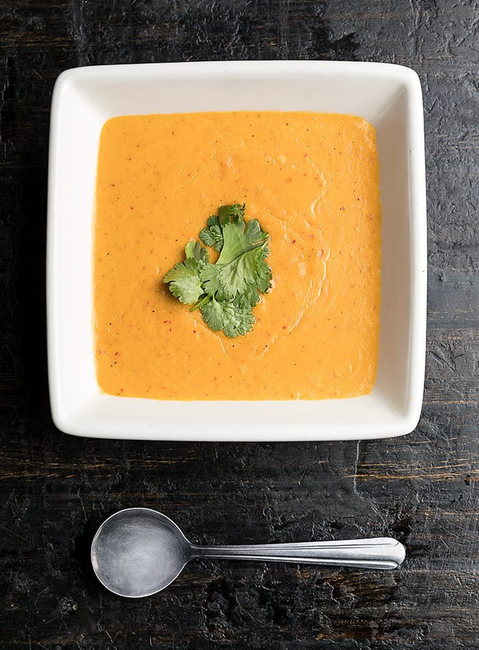 Carrot Soup from Grad School
