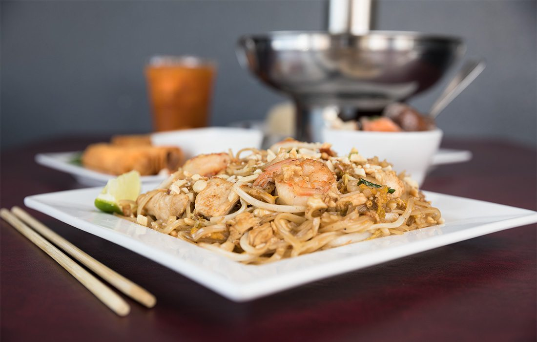 Dinner options at Everyday Thai in Springfield MO