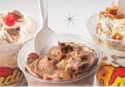 Andy's Frozen Custard Seasonal Treat