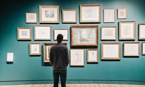 art gallery wall