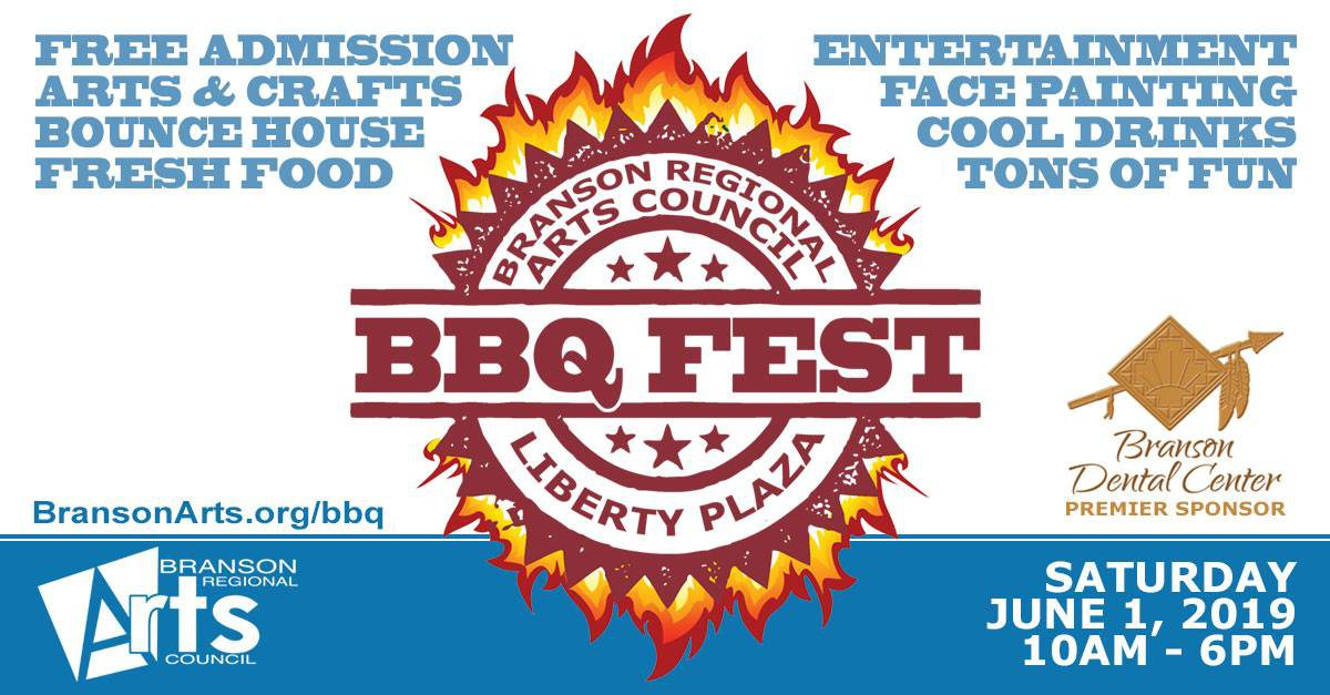 Branson Regional Arts Council BBQ Fest in Branson, MO