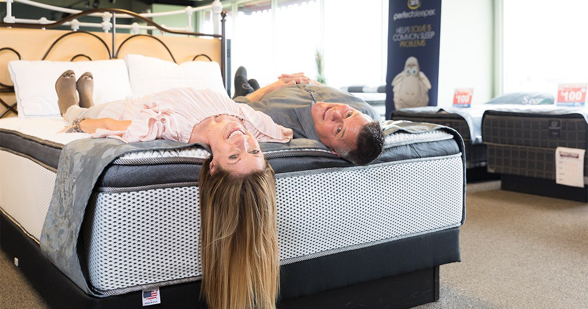 Beautyrest Sleep Gallery owners Ursula and Keith James know that good sleep starts with a good  mattress.