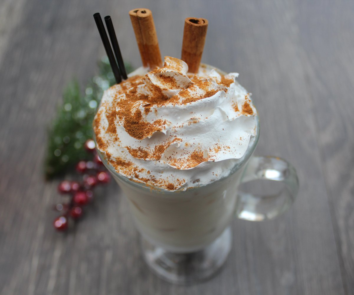 Holiday eggnog recipe from Big Whiskey's in Springfield MO