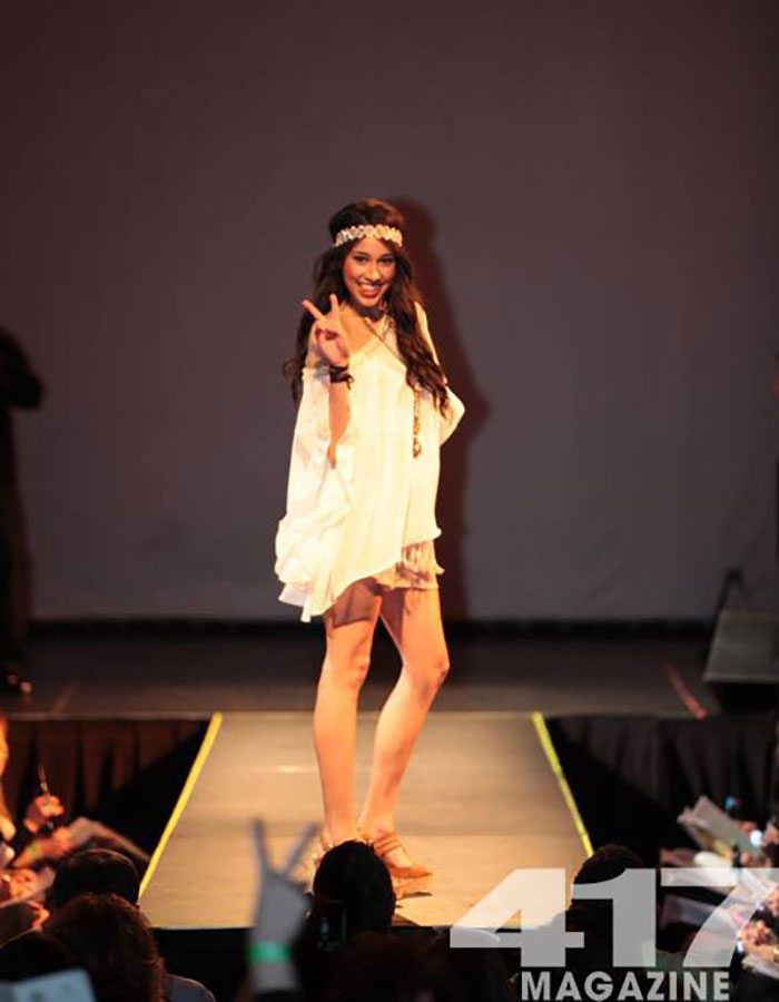 Runway Model at Fashionation 2014