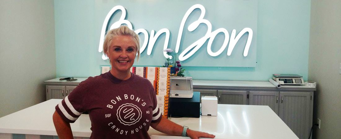 Bonnie Nolen, Bon Bon's Candy House owner