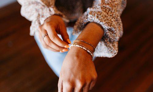 Jewelry from Onie + Sky