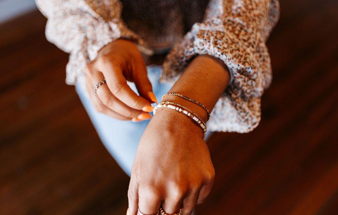 Custom jewelry from Onie + Sky