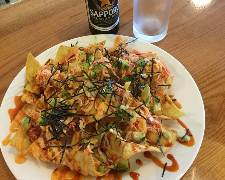 California Roll Nachos from Yoshi Jen.