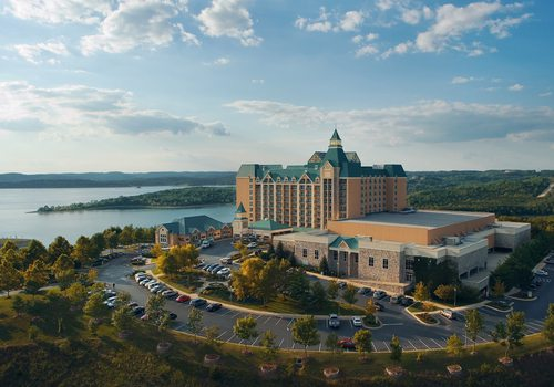 Chateau on the Lake in Branson, MO